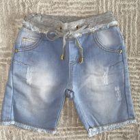 Bermudinha Animê Jeans 4T - 4 anos - Animê