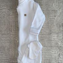 Macacão Grow Up Plush Branco 3T - 3 anos - Grow up