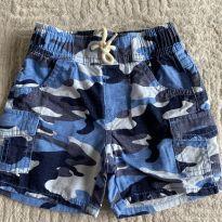 Bermuda GAP Camuflada Azul 6-12 meses - 1 ano - GAP