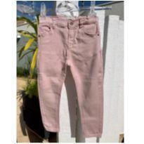 Calça jeans Zara baby rosa queimado skinny - 24 a 36 meses - Zara Baby
