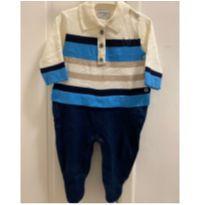 macacão tricot noruega - 0 a 3 meses - Noruega Baby