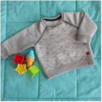 Agasalho Blusão Moleton Teddy Boom - 3 a 6 meses - Teddy Boom