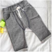 Calça Moletinho que parece Jeans! Teddy Boom - 3 a 6 meses - Teddy Boom