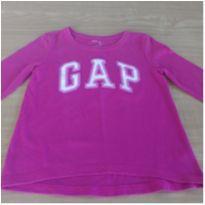 Camiseta manga longa Gap - 6 anos - Baby Gap