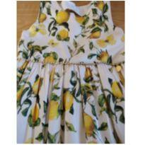 Vestido Limãozinho - 6 anos - Pupi
