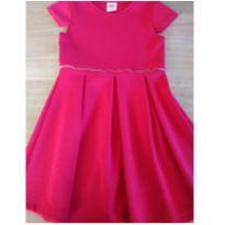 Vestidinho vermelhinho - 6 anos - Palomino