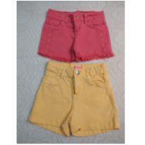 Shorts amarelinho + doação - 8 anos - marisa