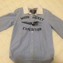Camisa jeans - 6 anos - H&M