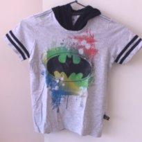 Camisa com toca Batman - 6 anos - C&A