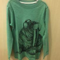 Camiseta Leão Marinho - 5 anos - Carter`s