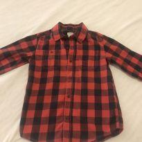 Camisa xadrez muito descolada - 7 anos - Carter`s