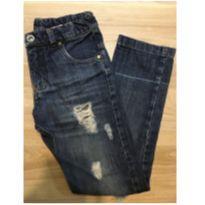 Calça jeans rasgada Paola Bimbi - 6 anos - PB Sport