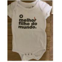 Body reserva - 9 a 12 meses - Reserva mini