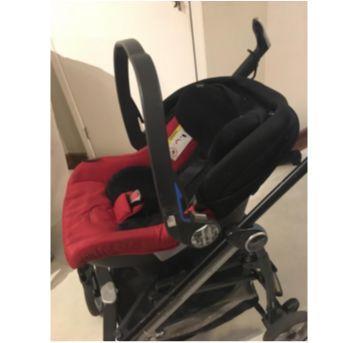 Carrinho Peg Perego + Bebê Conforto + Uma Base - Sem faixa etaria - Peg Pérego