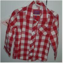 Camisa xadrez vermelha - 3 anos - Palomino