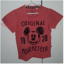 Camiseta vermelha Mickey - 3 anos - Disney
