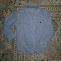 Camisa linho azul claro H&M - 3 anos - H&M