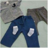 Kit baby moderno - 0 a 3 meses - Hering Kids e Teddy Boom
