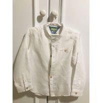 Camisa de linho - 4 anos - Chicco