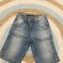 Bermuda jeans estonada - 4 anos - Não informada