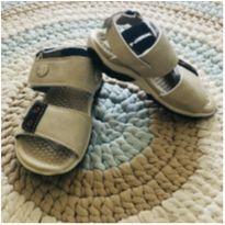 Sandália papete cinza e azul marinho - 24 - Klin
