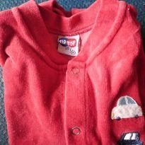 Macacão vermelho - 0 a 3 meses - Tip Top