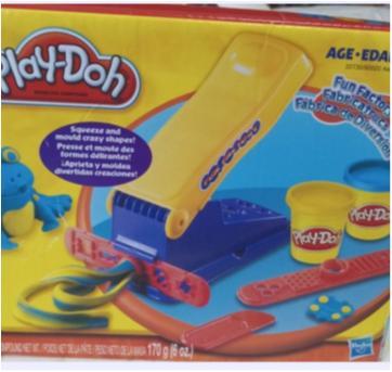 Play-doh Fábrica De Diversão Massinha De Modelar. 6 Itens. - Sem faixa etaria - Play Doh