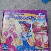 Quebra Cabeças Vida de Princesa 3 em 1 -  - Pais e Filhos
