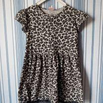 Vestido estampa animal print tam 8 - 8 anos - Yeaqp