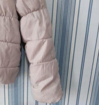 Jaqueta corta vento com capuz acolchoada tam 10 - 10 anos - Sem etiqueta Importado