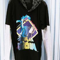 Camiseta manga longa da série Cartoon Apenas um Show tam 12 - 12 anos - Cartoon Network
