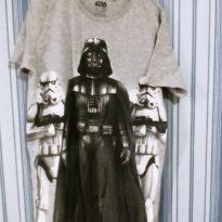 Camiseta Star Wars Darth Vader tam 14 - 14 anos - C&A