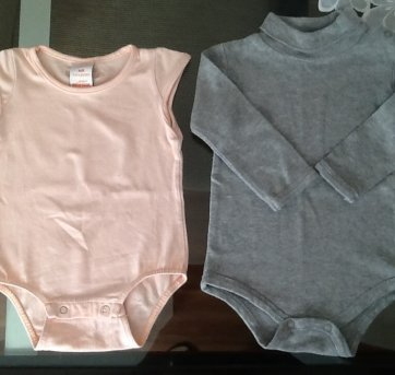 Duo de bodies - 6 a 9 meses - Teddy Boom e Marisol