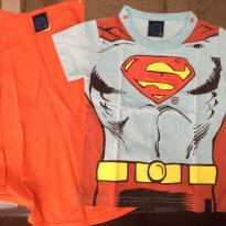 Camiseta Superman - 1 ano - Dc comics