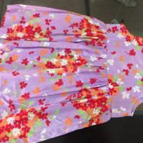 Vestido lilás colorido - 1 ano - Tip Top