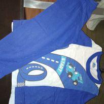 Pijama azul Start - 4 anos - Bicho bagunça