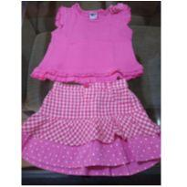 Conjunto pink - 12 a 18 meses - Tip Top
