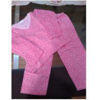 Pijama oncinha pink - 6 anos - Mafessoni