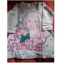 Camiseta vestido Barbie - 4 anos - Barbie
