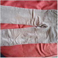 Calça de veludo bege - 4 anos - Chicco