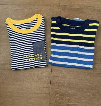 Kit 2 camisetas carters - 3 anos - Carter`s