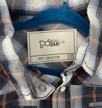 Camisa social Poin - 3 anos - Poim
