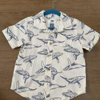Camisa social Old Navy - 3 anos - Old Navy