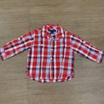 Camisa social Tommy - 1 ano - Tommy Hilfiger