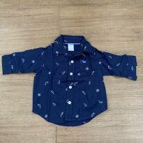 Camisa social Carters - 3 meses - Carter`s