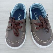 Sapato marrom Tricae - 23 - Tricae