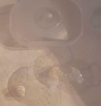 Protetor de seio MAM - bico de silicone - Sem faixa etaria - MAM