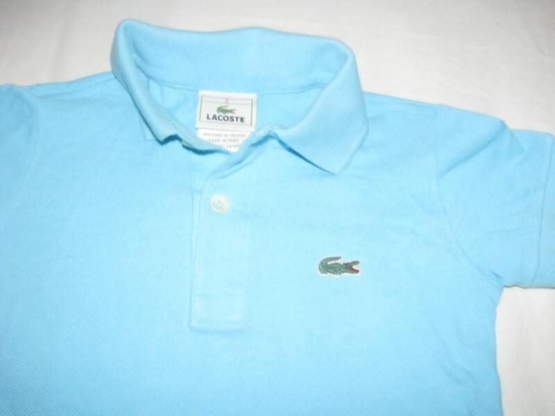 Camisa polo Azul Celeste Lacoste 2 anos no Ficou Pequeno - Desapegos ... 1bda719f94