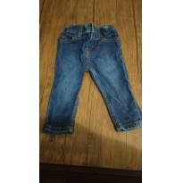 Calça jeans Carter`s - slim - super moderna. Usada 1 única vez - 9 meses - Cartoon Network