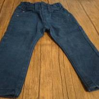 Calça skinny em sarja azul marinho. - 1 ano - marisa